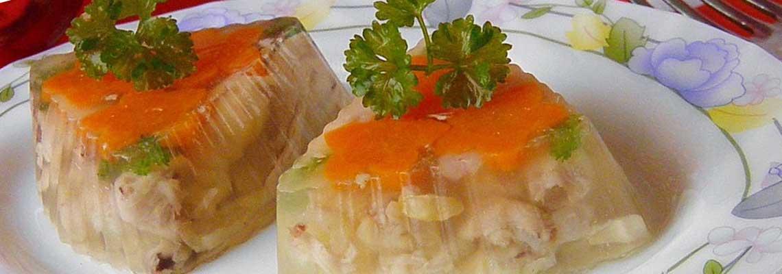 Холодец из курицы без желатина — классический рецепт фото