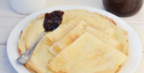 Рецепт постных блинов с содой без использования яиц фото