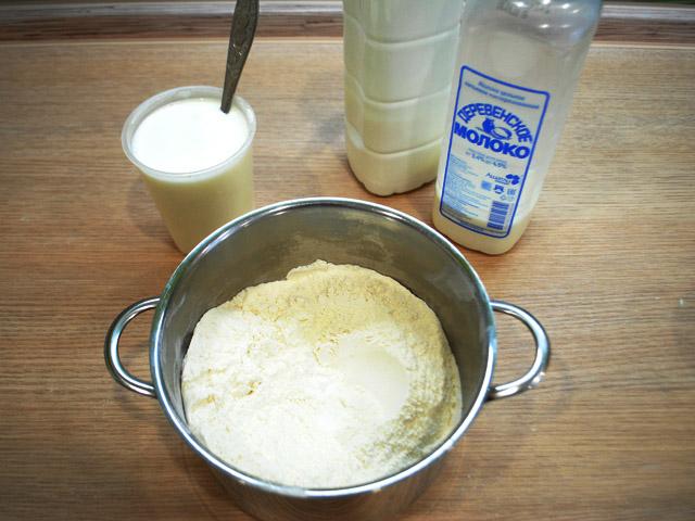 Вкусные заварные блинчики с крахмалом без яиц на 1 литр молока фото