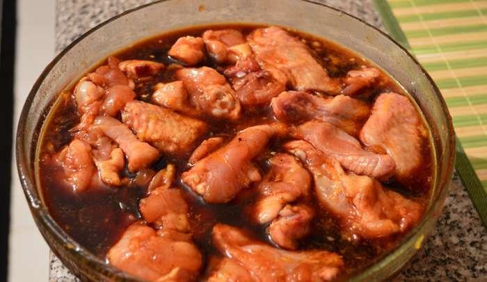 Как вкусно приготовить курицу с кетчупом и оливковым маслом фото