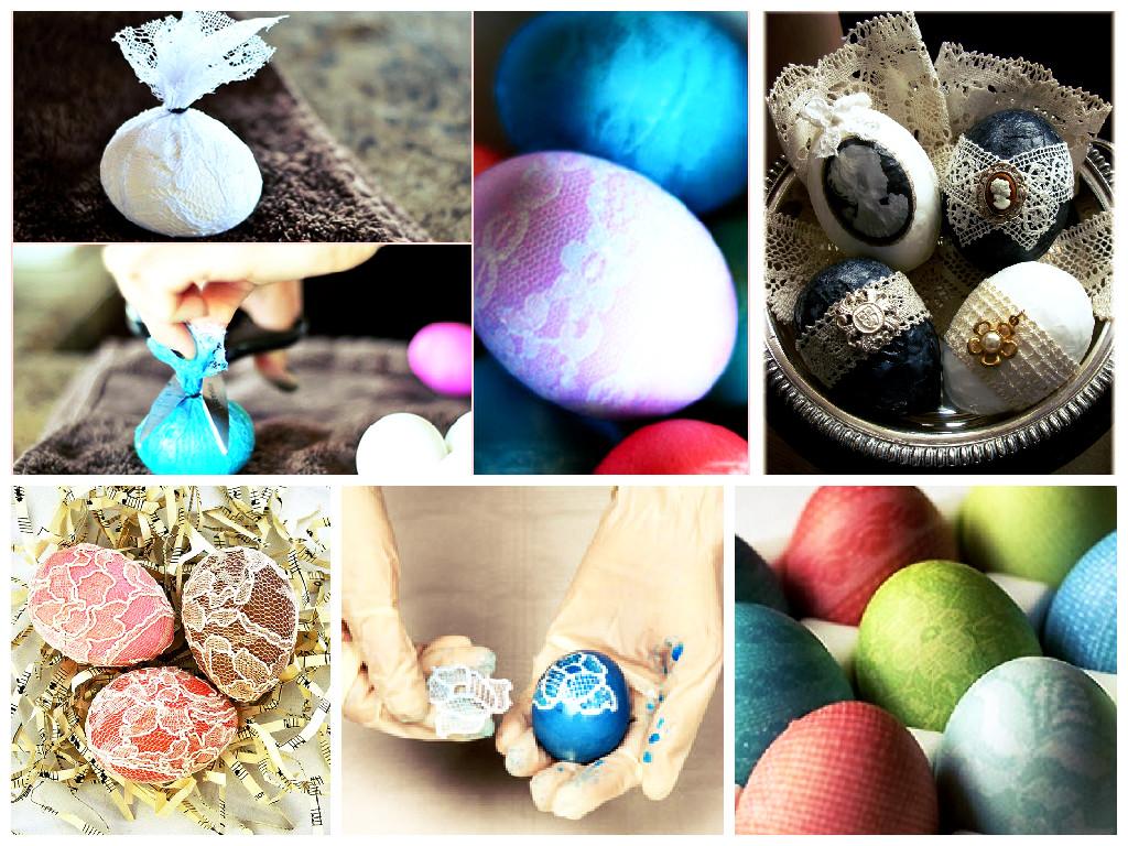 Как можно интересно покрасить пасхальные яйца фото