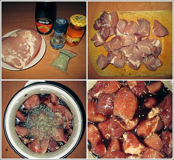 Как приготовить маринад для шашлыка с соевым соусом и лимонным соком фото