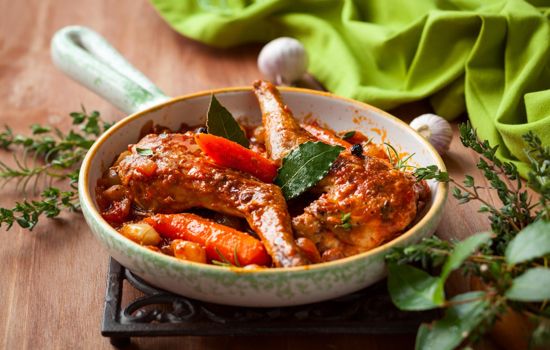 Как приготовить рагу из кролика рецепт фото
