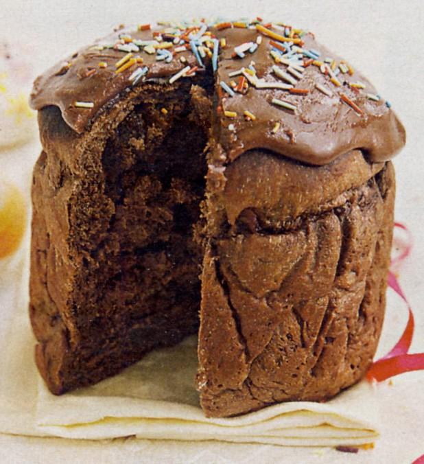 Как приготовить шоколадный кулич в хлебопечке фото