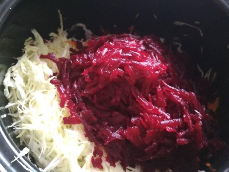 Рецепт винегрета со свежей капустой фото