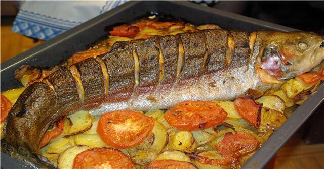 Рыба, запеченная в духовке 10 вкусных рецептов фото