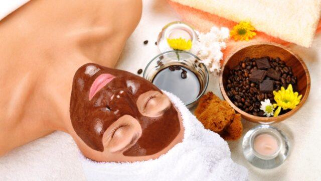 Медово-кофейная очищающая маска для лица фото