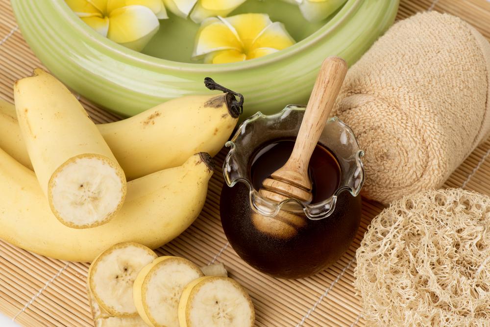 Питательная маска для лица с бананом фото