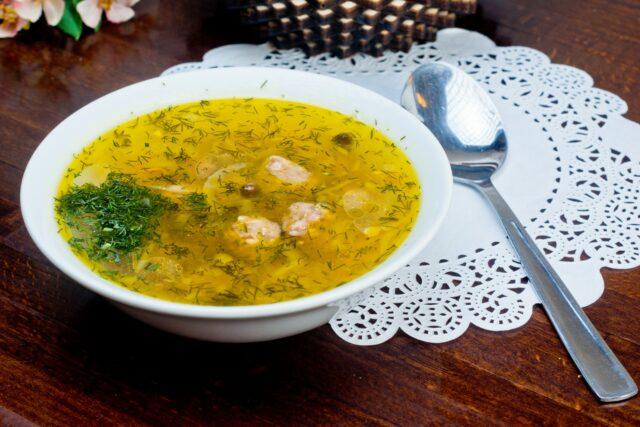 Суп с фрикадельками 12 вкусных пошаговых рецептов с фото