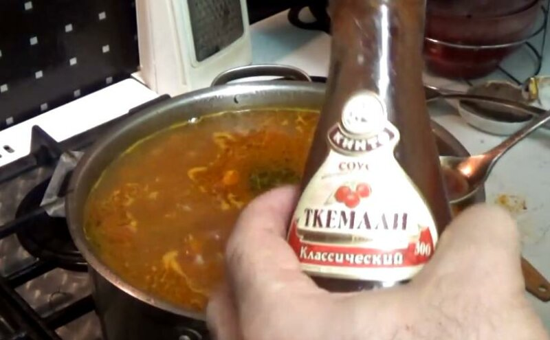 Суп харчо из баранины — грузинский рецепт приготовления фото