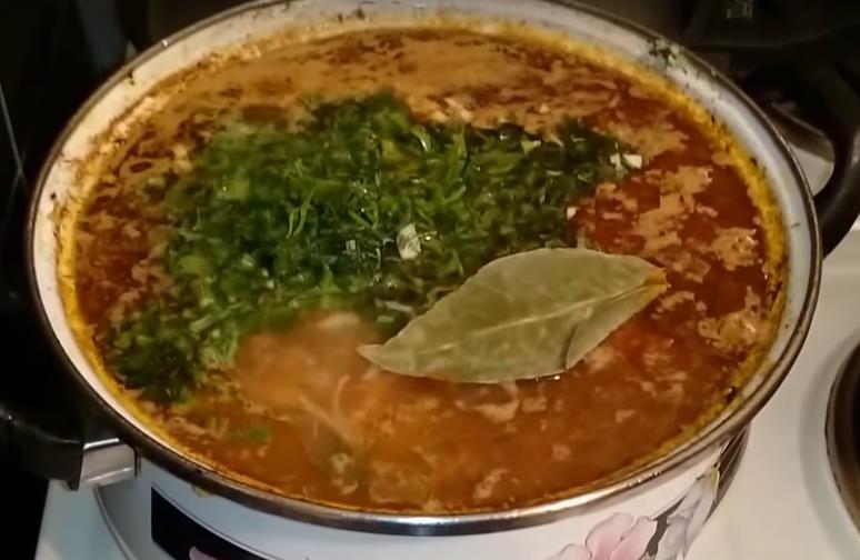 Суп харчо — рецепт приготовления в домашних условиях со свининой фото