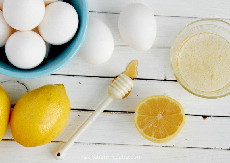 С лимоном и яичным белком фото