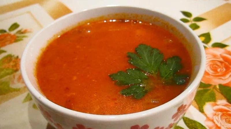 Суп харчо в мультиварке с рисом и картошкой из свинины
