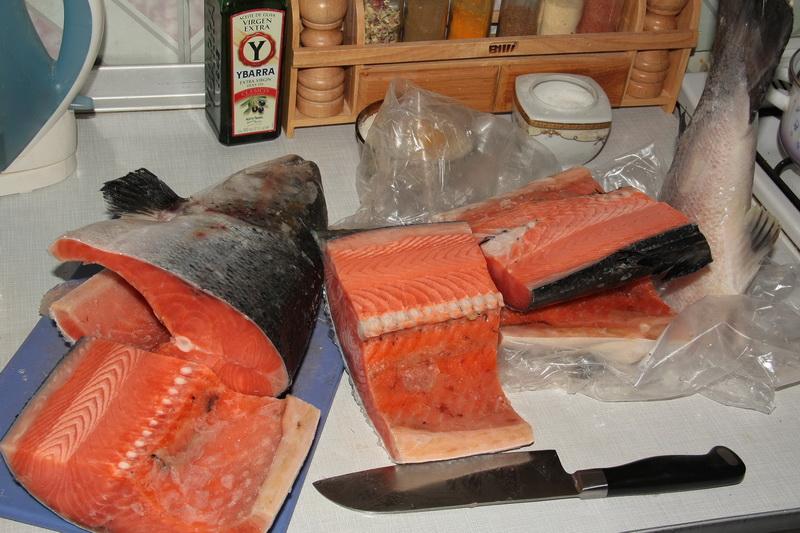 Горбуша слабосоленая под сёмгу - рецепт пошаговый с фото