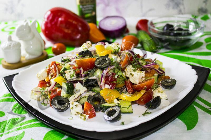 Как правильно приготовить греческий салат — классические рецепты в домашних условиях фото