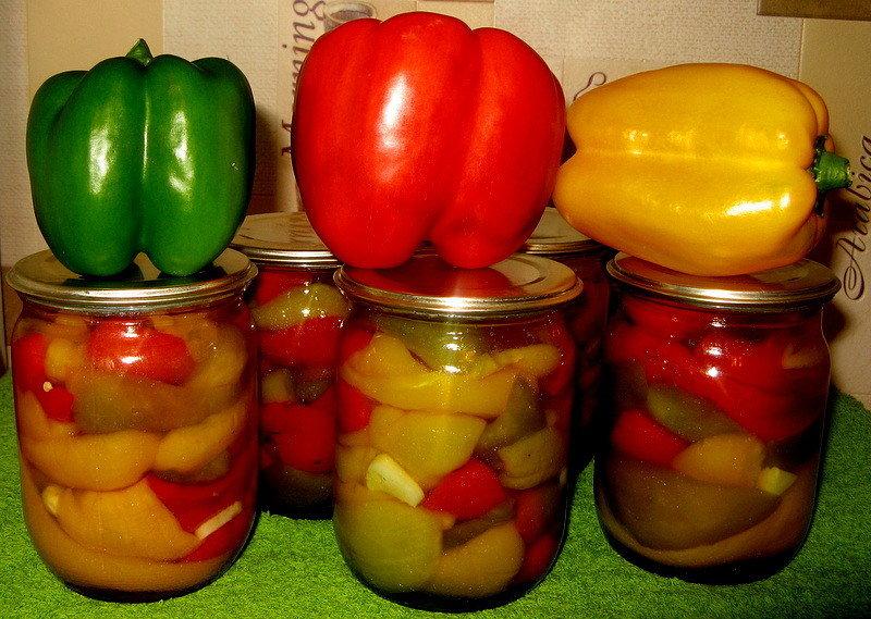 Болгарский перец на зиму — вкусные рецепты консервации перца фото