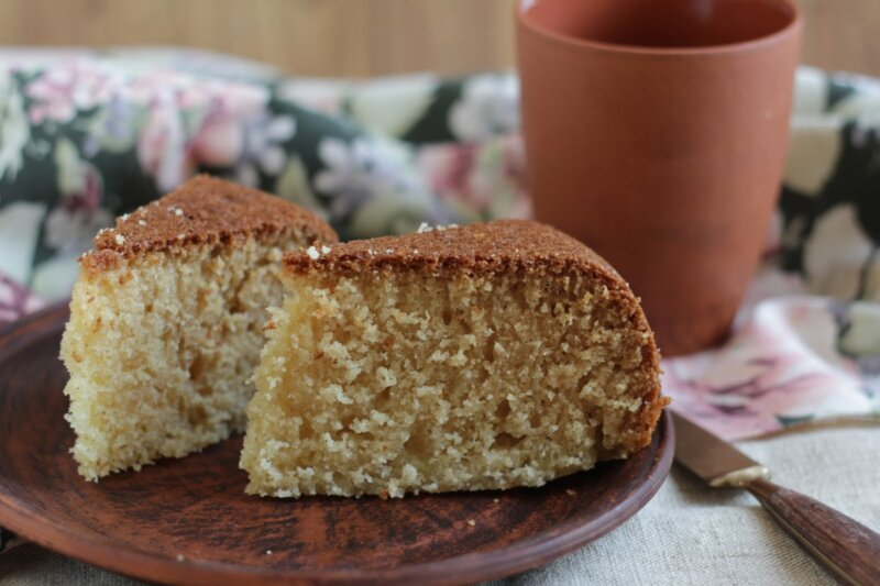 Манник на кефире без яиц — очень простой и вкусный рецепт фото