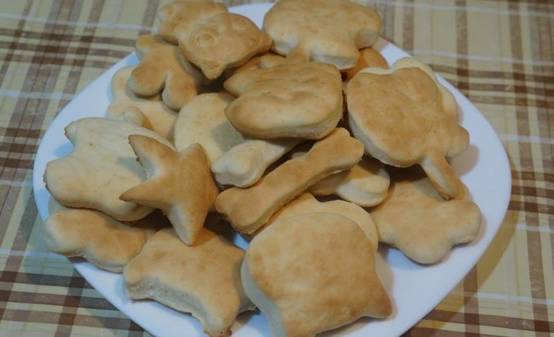 Домашнее печенье песочное на сливочном масле фото