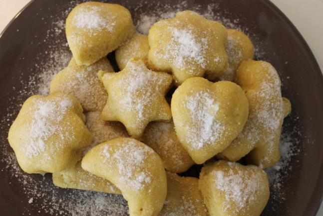 Песочное печенье без яиц фото