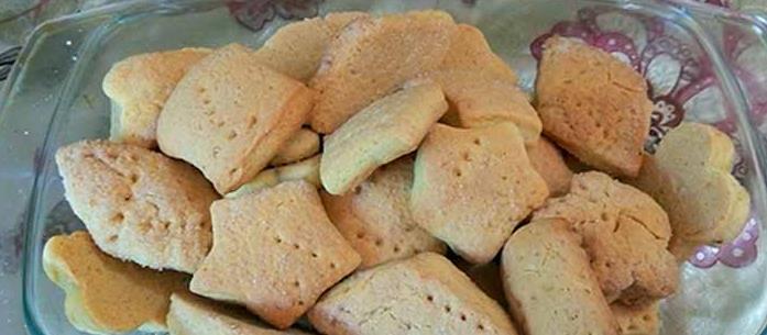 Песочное печенье на сковороде фото