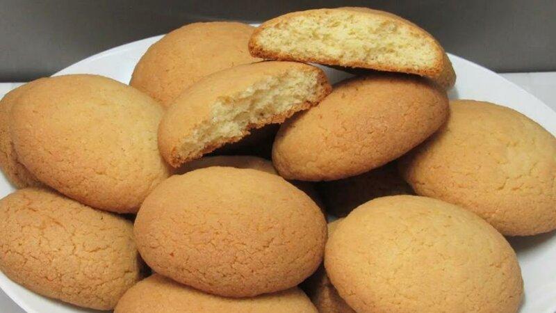 Песочное печенье по классическому рецепту фото