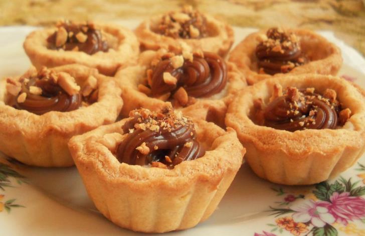 Песочное печенье со сгущенкой фото