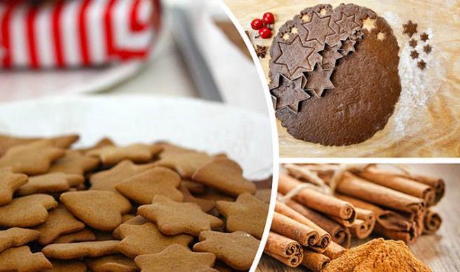 Песочное печенье с корицей фото