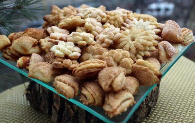 Песочное печенье — 21 рецепт песочного печенья в домашних условиях фото