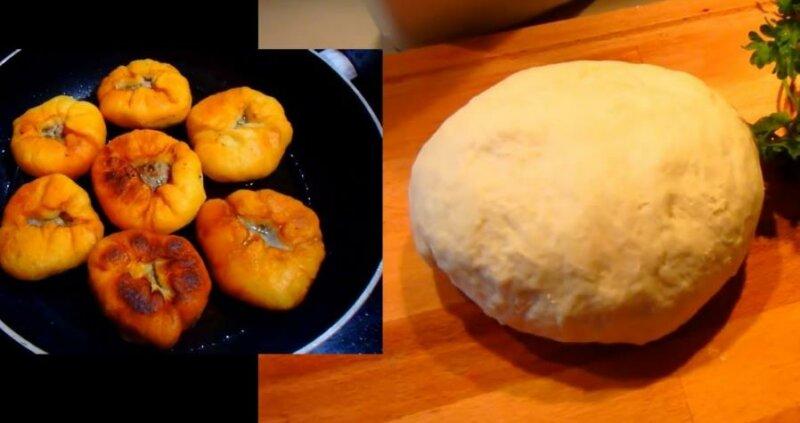 Тесто для беляшей дрожжевое — очень вкусное как пух фото