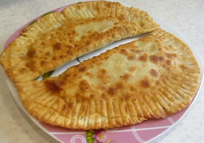 Тесто для чебуреков вкусное хрустящее на кефире фото