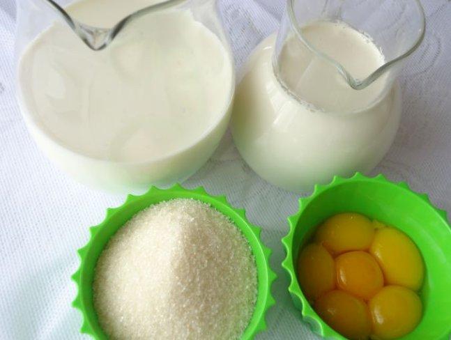 Мороженое в домашних условиях из молока — рецепт вкусного молочного мороженого фото