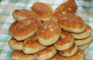 Пирожки на кефире жареные на сковороде — пышные как пух фото