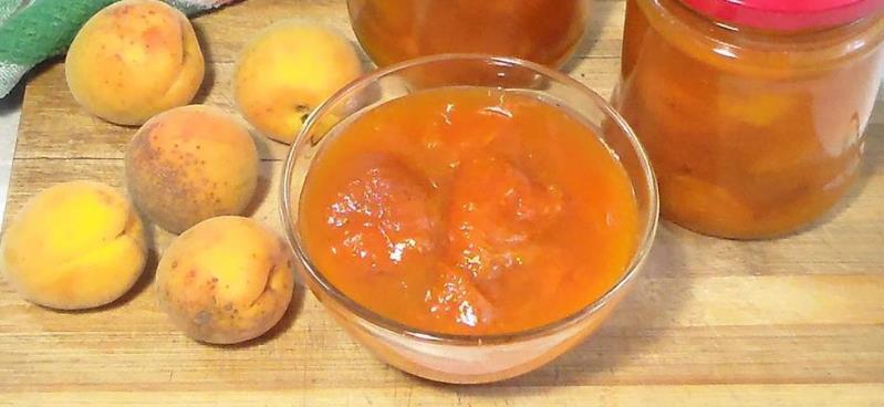 Рецепт варенья из абрикосов пятиминутка фото