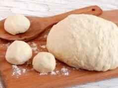 Тесто на кефире для пирожков — быстрое пирожковое тесто на кефире фото