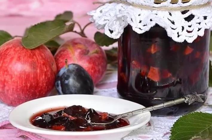 Варенье из сливы с яблоками на зиму — рецепт пальчики оближешь фото
