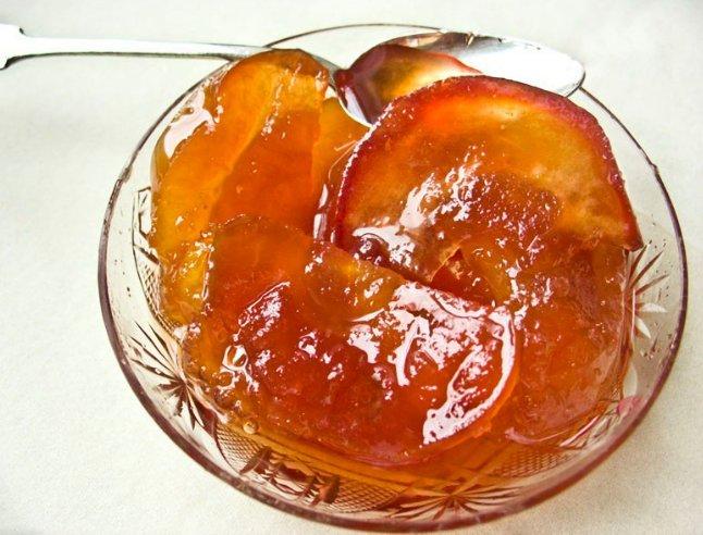 Варенье из яблок и абрикосов дольками фото