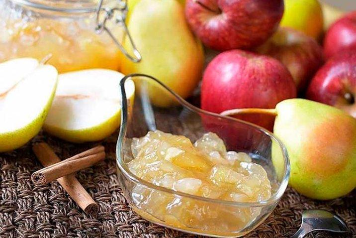 Варенье из яблок и груш фото