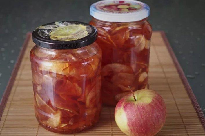 Домашнее варенье из яблок рецепт пятиминутка фото