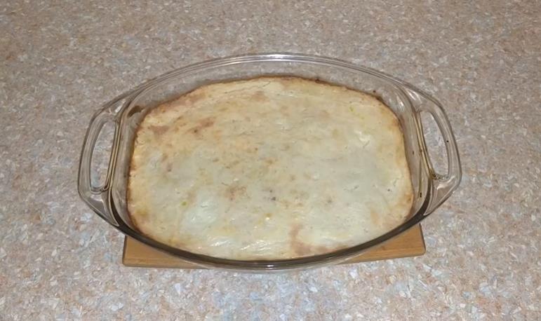 Картофельная запеканка с фаршем в духовке как в детском саду фото
