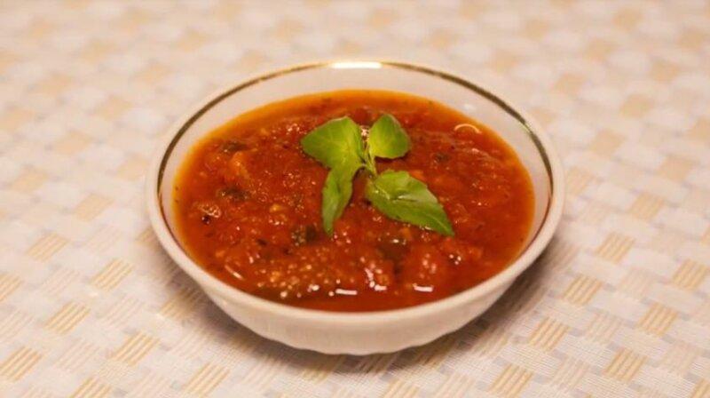 Кетчуп из помидоров в домашних условиях с базиликом