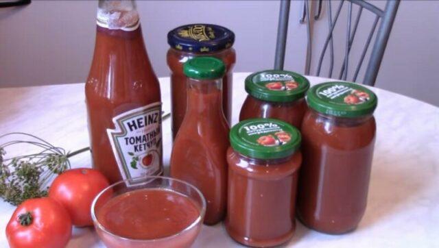 Кетчуп из помидоров на зиму — просто пальчики оближешь (простые рецепты в домашних условиях)