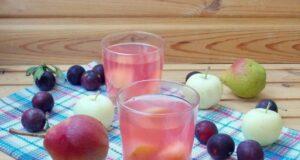 Компот из яблок на зиму — простой рецепт вкусного яблочного компота фото