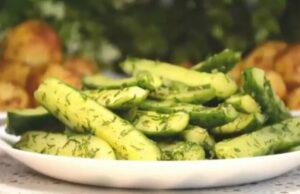 Малосольные огурцы с чесноком и зеленью быстрого приготовления — рецепты хрустящих и вкусных огурчиков