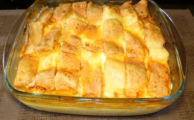 Рецепт картофельной запеканки с куриным фаршем
