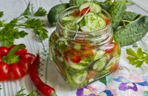 Салат из огурцов на зиму — рецепты вкусные просто пальчики оближешь фото