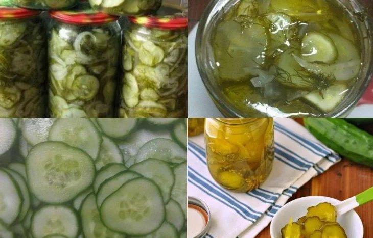 Салат на зиму из огурцов без стерилизации фото