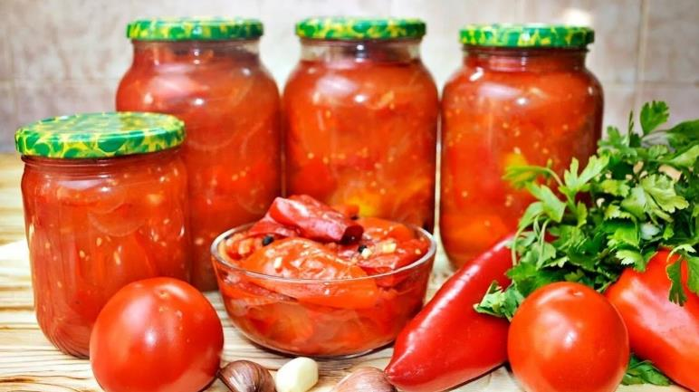 Лечо из болгарского перца на зиму — рецепты пальчики оближешь