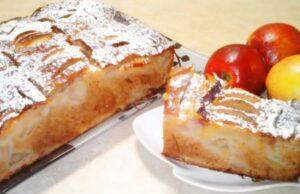 Пышная шарлотка с яблоками в духовке на кефире — 6 лучших рецептов приготовления
