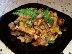 Жареная-картошка-с-мясом-на-сковороде-—-вкусные-и-простые-рецепты-приготовления