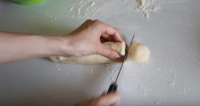 Нарезать порционные заготовки